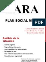 Plan Social Media ZARA