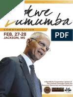 Chokwe Lumumba Commemoration Program Booklet