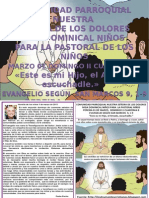 HOJITA EVANGELIO DOMINGO II CUARESMA B COLOR