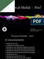 Principios de Medida Nivel