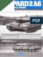 Leopard 2A6 300056020_Bauanleitung