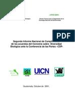 CBD Guatemala 2do Informe