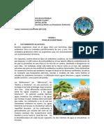 Ecología Marítima y Terrestre