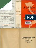 A Modern History of Viet-nam1
