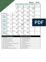 2015-03 Kalender Liturgi - Maret