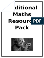 Additional Maths Resource Pack2
