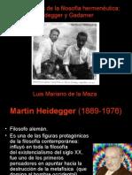 Fundamentos de La Filosofía Hermenéutica