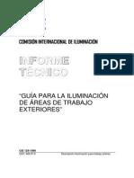 CIE129-1998 Guía Para La Iluminación de Áreas de Trabajos Exteriores