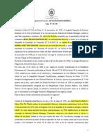 Sentencia_TSJ_SPA_Nº 1363_13!06!2000_Jean Francois Raulet vs Maria Chu Thi Thanh_Domicilio_Pruebas