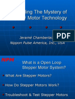 Nippon Pulse America- Unraveling the Mystery of Stepper Motor Technology