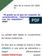 Concepto de Calidad ISO