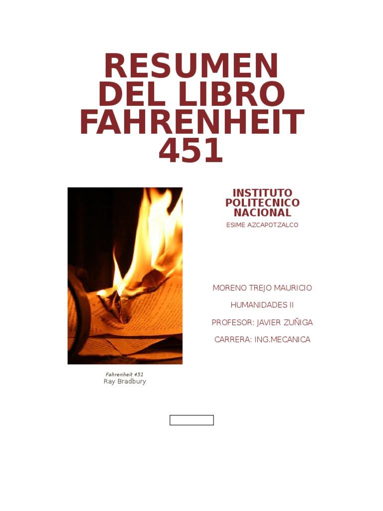 fahrenheit 451 resumen completo pdf