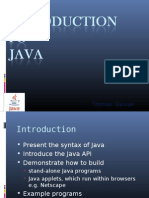 introduction to java & java messaging