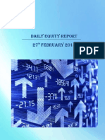 Daily Equity Market Report-27 Feb 2015