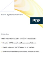 01 HSPA System Overview in UMTS Network