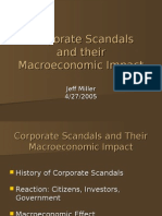 Corporate Scandals and Macroeconomic Impact