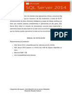 Manual de Instalacion SQL Server 2014 Windows
