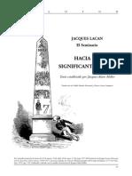 Jacques Lacan - Hacia Un Nuevo Significante