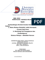BML 3053-MORFOLOGI BAHASA MELAYU(PERBANDINGAN KATA ADJEKTIF).docx