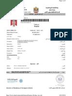 Babarao Mankar Visa Copy