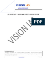 Fdi in Defence Issues and Recent Developments