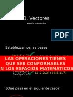 Vectores Matematicas