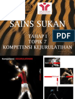 Topik 7 Kompetensi Kejurulatihan Tahap 1 15.5.2012