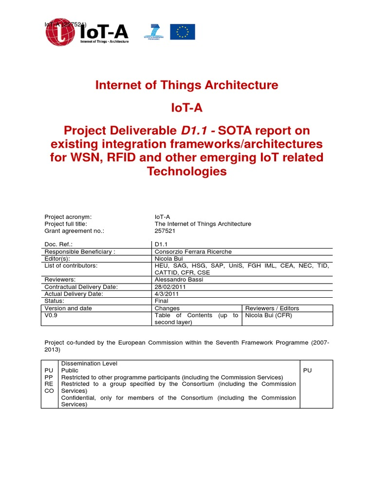 110304 D1 1 Final Internet Of Things Conceptual Model Ricerche Correlate A Metal Detector Circuit Schematic Pdf
