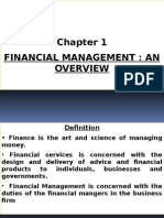 Chapter 1 Overview of Financial Management