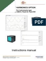 User Manual Harmonics X3M 96 and Flash 96