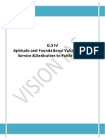 Aptitude Foundational Values for CS