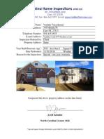 lot 24 baileys creek home inspection meritage homes
