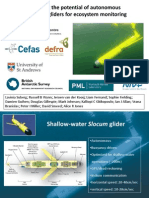 Assessing The Importance Of Autonomous Submarine Gliders For Ecosystem Monitoring