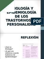 Etiología y Epidemiología de Los Trastornos