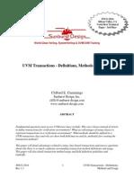 CummingsSNUG2014SV UVM Transactions
