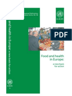 WHO Regional Publications - Food and Health in Europ - A New Basis for Action