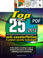 TOP 25 Anti Counterfeiting