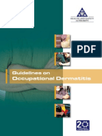 Guidelines on Occupational Dermatitis