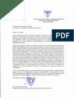 Carta de ATA-Sylvia Rivera al Alcalde de Umbrete