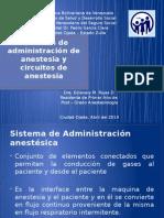 Sistemas de Admin Anestesica y Circuitos