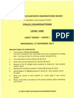 Cpa 7 Audit Theory