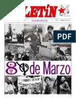 Boletin del Ateneo Paz y Socialismo de marzo de 2015