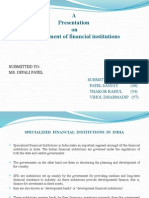 Development of Financial Institution