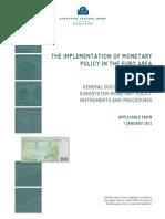 Eurozone Implementation of Monetary Policy