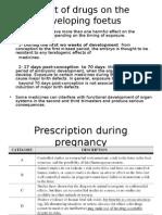 Prescription During Pregnancy 1