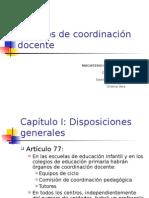 1 Art_77-83 Organos de Coordinacion Docente