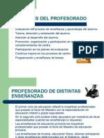 5 Funciones Del Profesorado
