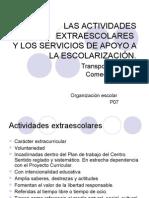 14 15 16 Actividades Extraescolares