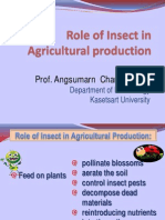 Final Role of Insect in Agriculture