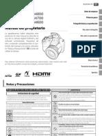 Manual FUJIFILM S4800 Español